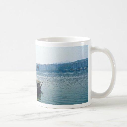 Turtle boat, Yosu Coffee Mug