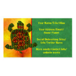 Turtle Double-Sided Standard Business Cards (Pack Of 100)