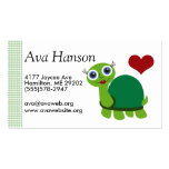 Turtle Business Card Templates