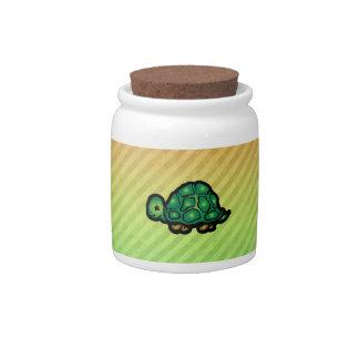 Turtle Candy Jars