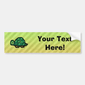 Turtle Car Bumper Sticker