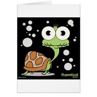 Turtle Card, Standard white envelopes included Card