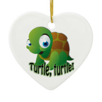 Turtle! Ceramic Ornament
