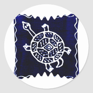 Turtle Classic Round Sticker