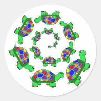 Turtle Coalition Classic Round Sticker