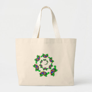Turtle Coalition Large Tote Bag