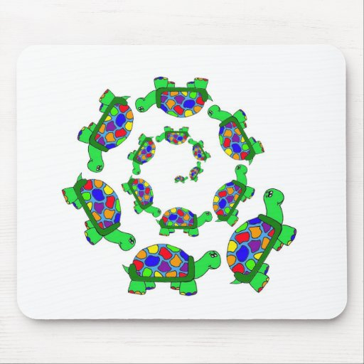 Turtle Coalition Mouse Pad