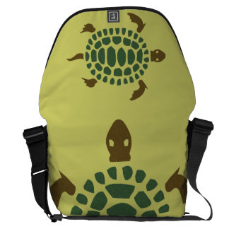 Turtle Courier Bag