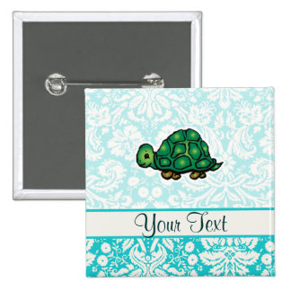 Turtle; Cute Buttons