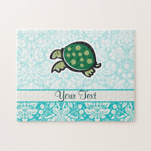 Turtle; Cute Jigsaw Puzzle
