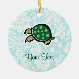 Turtle; Cute Christmas Ornament