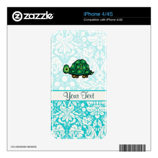 Turtle; Cute Skins For iPhone 4