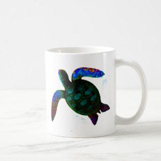 Turtle Cyan The MUSEUM Zazzle Gifts Coffee Mug