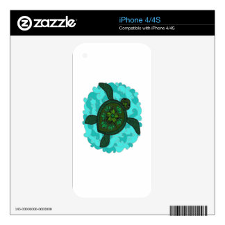 Turtle Decals For The iPhone 4S