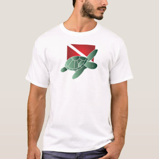 Turtle Dive Flag Light T-shirt