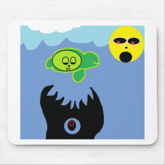 TURTLE DOOMED MOUSE PAD