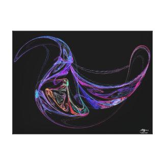 Turtle Dove Fractal Canvas Print