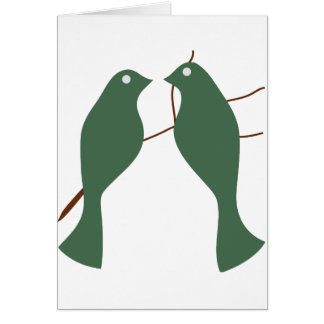 Turtle Doves Greeting Cards