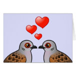 Turtle Doves in Love Greeting Card