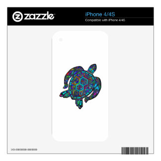 TURTLE DREAM AWAY SKIN FOR THE iPhone 4