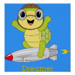 Turtle Dreamer™ Poster