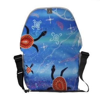 Turtle Dreaming Messenger Bag