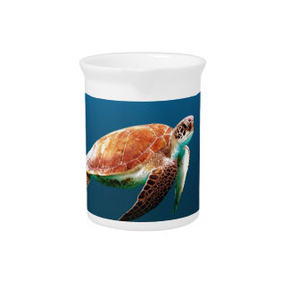 Turtle Drink Pitcher
