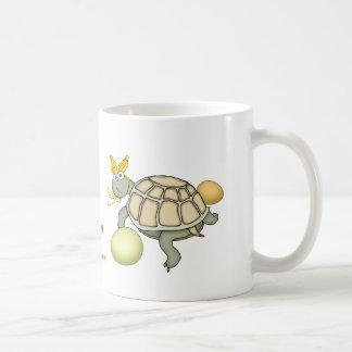 Turtle Easter Bunny with Eggs! Coffee Mug