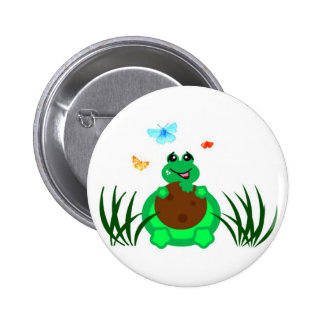 Turtle Eating a Cookie Pins