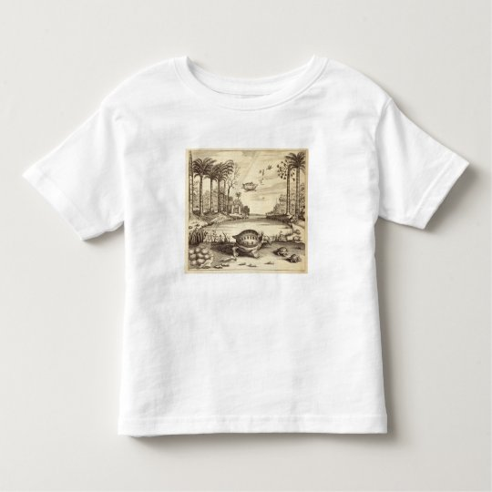 Turtle Eggs Hatching, from 'China Illustrated' by Toddler T-shirt