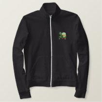 Turtle Embroidered Jacket
