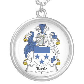 Turtle Family Crest Necklaces