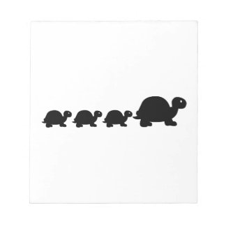 Turtle family note pads