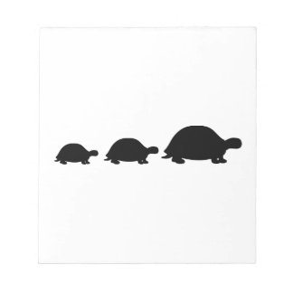 Turtle family notepads