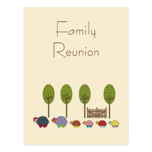 Turtle Family Postcards