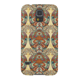 Turtle Floral Pattern Cases For Galaxy S5