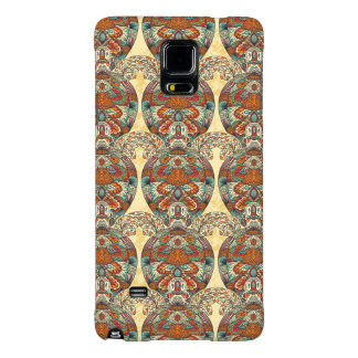 Turtle Floral Pattern Galaxy Note 4 Case