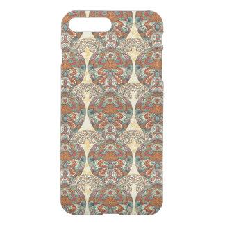 Turtle Floral Pattern iPhone 7 Plus Case