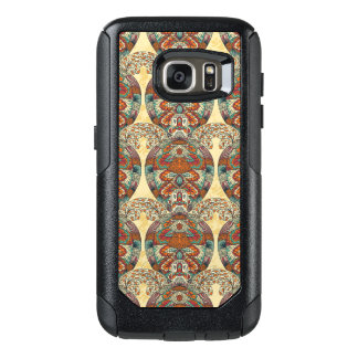 Turtle Floral Pattern OtterBox Samsung Galaxy S7 Case