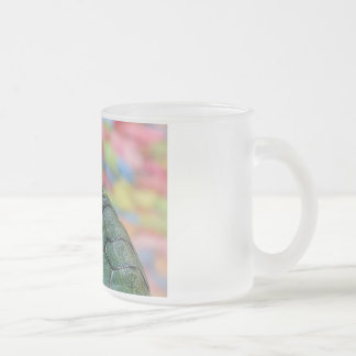 Turtle Frosted Glass Coffee Mug