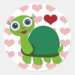 Turtle Girl Sticker