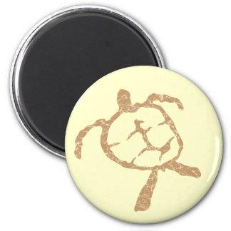 turtle-Gold Fridge Magnet