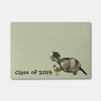 Turtle Grad Post-it® Notes