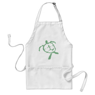 turtle-green adult apron