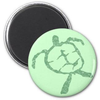 turtle-green fridge magnet