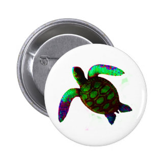 Turtle Green The MUSEUM Zazzle Gifts Pin