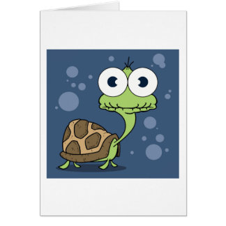 Turtle Greeting Card, white envelopes included Card