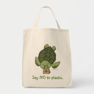 Turtle Grocery Tote Canvas Bags