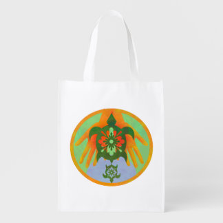 Turtle Hands Reusable Grocery Bag