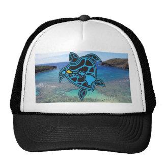 Turtle Hawaii Islands Cap Trucker Hat